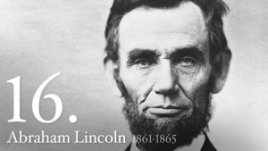 Abraham Lincoln, the 16th president of the United States, served as President from 1861 until his assisination in 1865. (Photo Source: Whitehouse.gov)