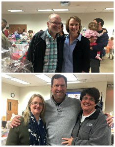 My wife carol and I, Jenny Laabs, Pastor Warren and his wife Gywn, enjoying the PTL Family Celebration last Friday